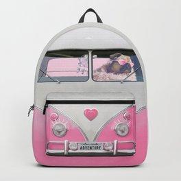 Pug Girly Adventure Backpack