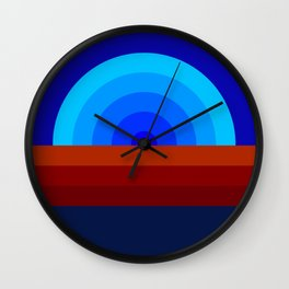 Los Santos Sunset Wall Clock