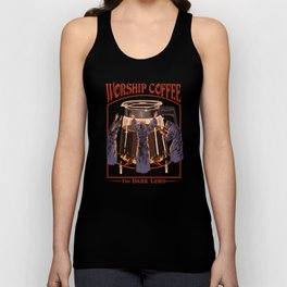 Worship Coffee Unisex Tank Top