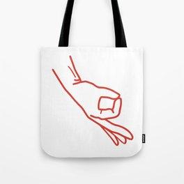 Made You Look Funny Boys Hand Circle Game Tees Tote Bag