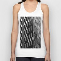 dallas Tank Tops featuring Building8 Dallas by SarahGW