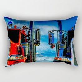 Trucking Rectangular Pillow