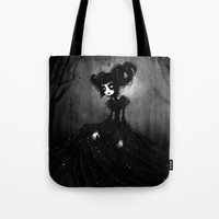aries Tote Bags featuring aries by karincoma
