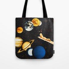 Planetary dream Tote Bag