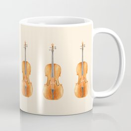 Cello - Watercolors Coffee Mug
