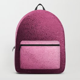 Modern abstract burgundy red pink gradient design Backpack