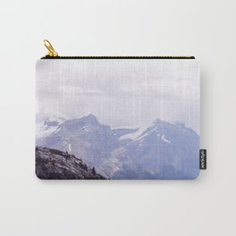 Purple and Pines Carry-All Pouch