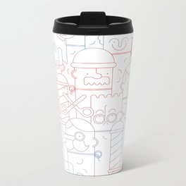 The Barber Shop Metal Travel Mug