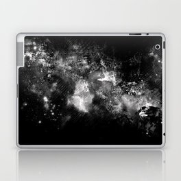 I'll wait for you black white version Laptop & iPad Skin