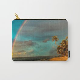 Rainbow Palm Tree Rincon Puerto Rico Carry-All Pouch
