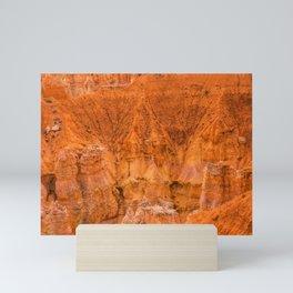 Rock Formation at Bryce Canyon National Park Mini Art Print