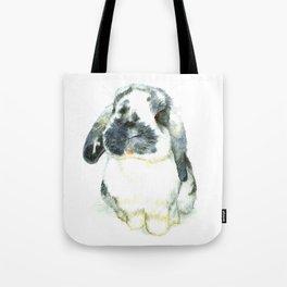 Fluffy Bunny Tote Bag