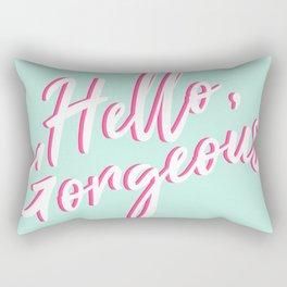 Hello, Gorgeous Rectangular Pillow