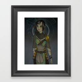 Warden Mahariel Framed Art Print