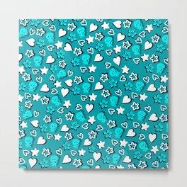 Lovely pattern 1 Metal Print