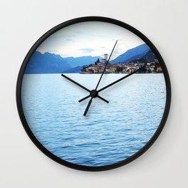 Lake Garda Sunset Wall Clock