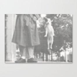 Pixel Elliott Erwitt Canvas Print