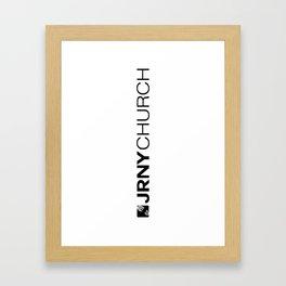 JRNY Framed Art Print
