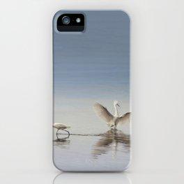 Egret Wings iPhone Case
