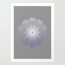 NAKED GEOMETRY no 3 Art Print