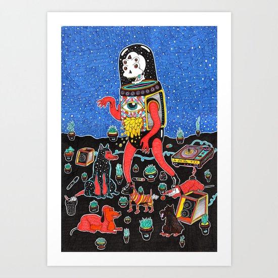 perric Art Print