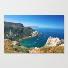 The Golden Coast Canvas Print