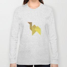 Tangram / Camel Long Sleeve T-shirt