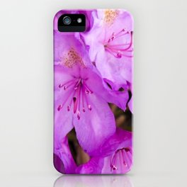 A Drop of Purple Sun iPhone Case