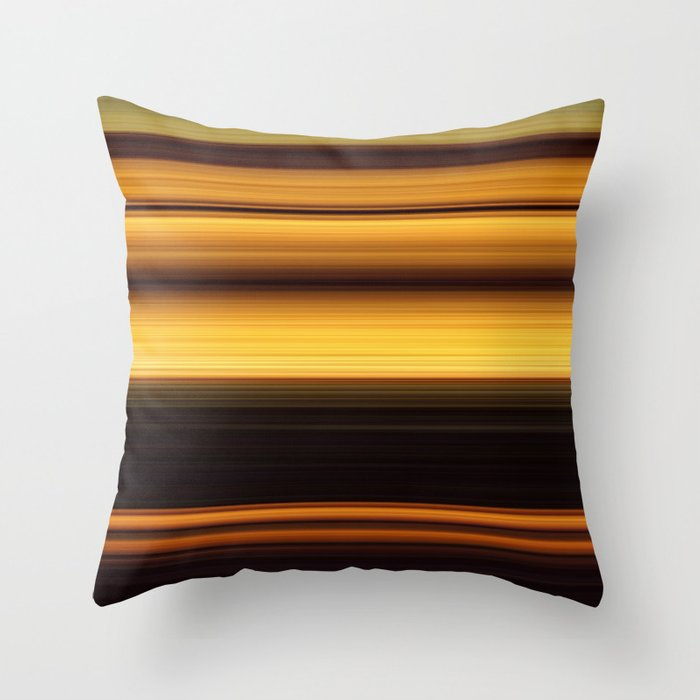 Mona Lisa - Swipe Throw Pillow