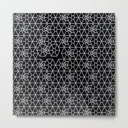 ESCAPE With Tie Fighter Metal Print