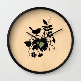 South Carolina - State Papercut Print Wall Clock