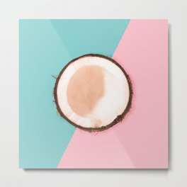 Coconut Metal Print