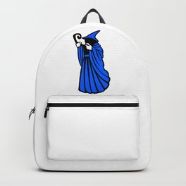 Blue Wizard Clipart Backpack