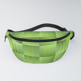 Weave in Green Fanny Pack