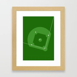 Sport Series: Baseball Framed Art Print