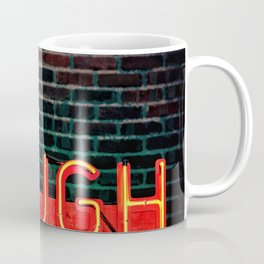 Laugh neon Coffee Mug