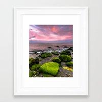 moss Framed Art Prints featuring Moss by Wanowicz Grzegorz