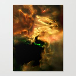 Molten Glow Canvas Print