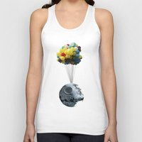 death star Tank Tops featuring Death Star by J Styles Designs