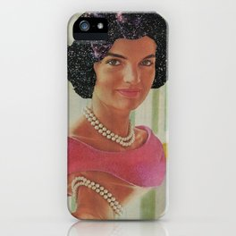 Far-Out Jackie iPhone Case