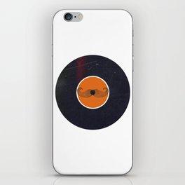 Vinyl Record Art & Design | Handlebar Mustache iPhone Skin