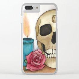 Strengh in Death Clear iPhone Case