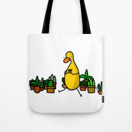 Surrounded by Succulents Tote Bag