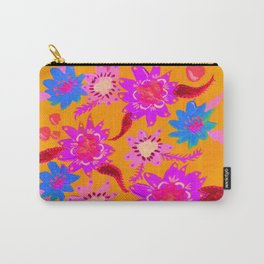 Neon Violets Carry-All Pouch