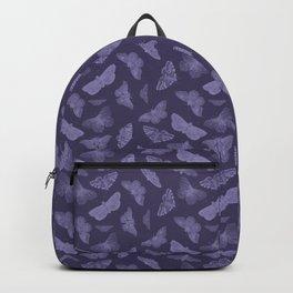 Butterflies on Violet Backpack