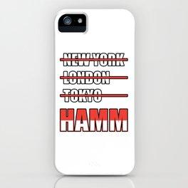 Hamm Cities Gift Idea iPhone Case