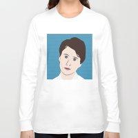 ezra koenig Long Sleeve T-shirts featuring Ezra Koenig by LAUNCH