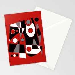 Abstract #915 Stationery Cards