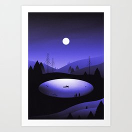 It's Here Art Print