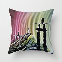 nl Throw Pillow